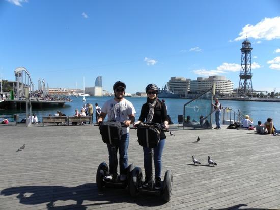 Туры по Барселоне на сегвеях Barcelona Segwat Glides