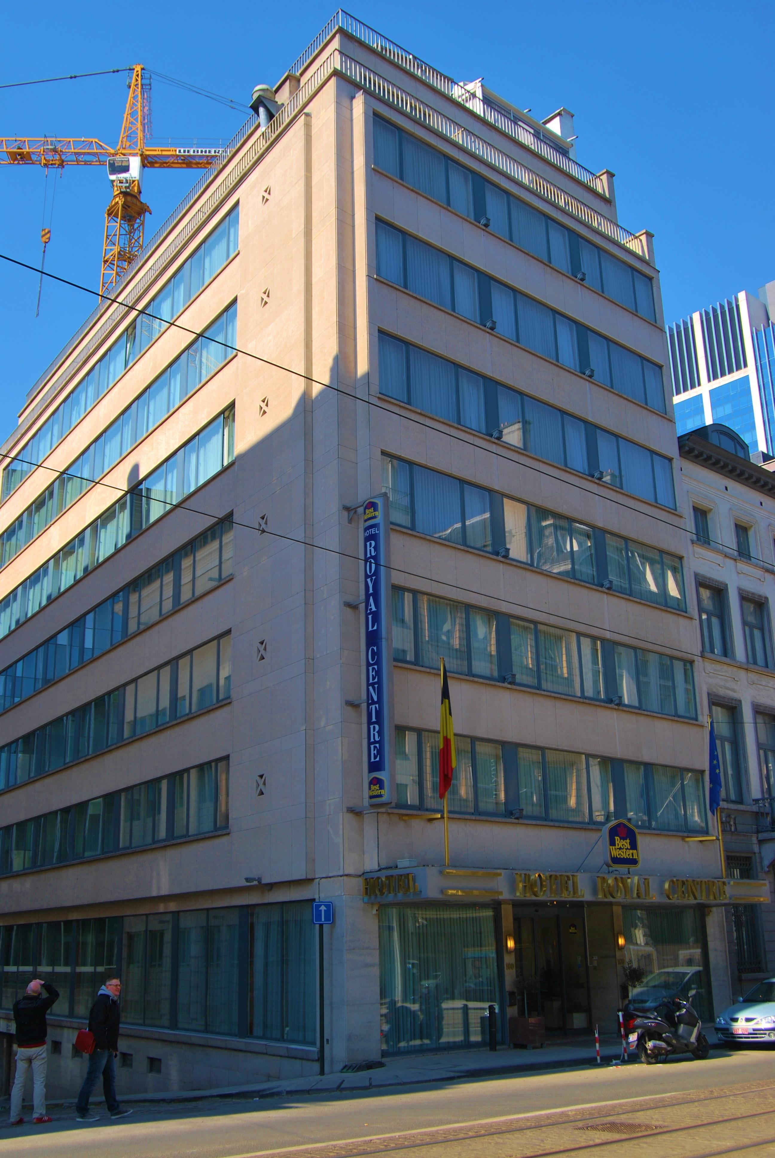 Best western hotel royal centre (brussel, belgië)   hotel ...