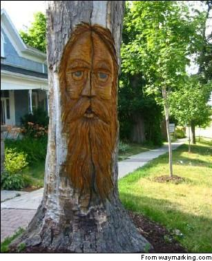 Art Walk of Tree Sculptures