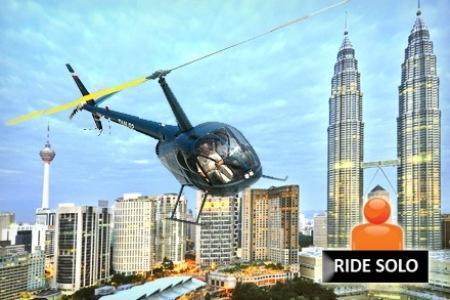 Kuala Lumpur City Air Tour