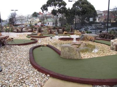 Tassie Tiger Mini Golf