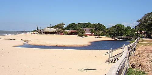 Praia Grande de Salvaterra Beach