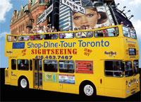 Shop-Dine-Tour Yellow Bus Toronto