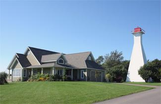 Summerside Range Lighthouse Rear