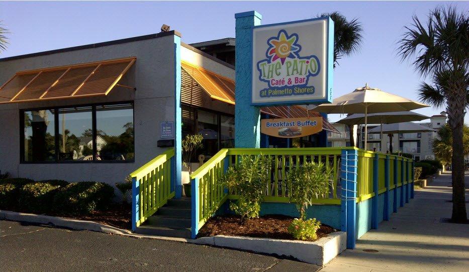The Patio Cafe & Bar Myrtle Beach Restaurant Reviews