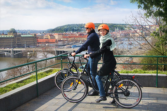 Prague By E-Bike