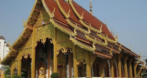 The Thai Chetawan Temple (Wat Chetawan)