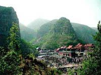 Lingshan Mountain Temple of Qi County