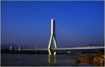 Lishui Liandu Zijin Bridge