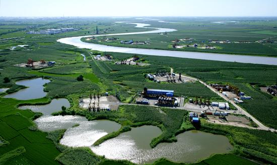 Green Bay of Liaohe River