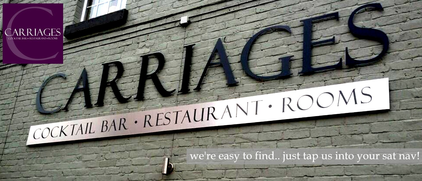 Carriages - Cocktail Bar, Restaurant & Rooms