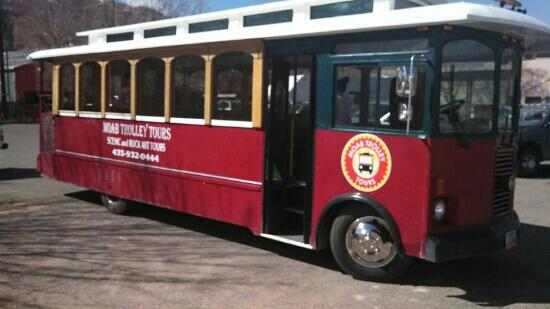 Moab Trolley Tours