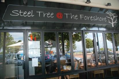 Steel Tree at the Foreshore