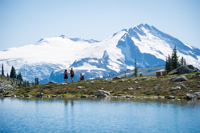 Alpine Hiking on Whistler Mountain. Mike Crane