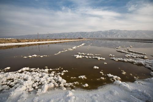 Salt Lake in Yuncheng County