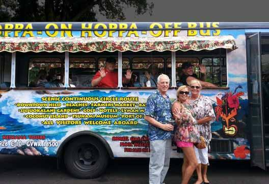 Hoppa On Hoppa Off Keikana Trolley Tour