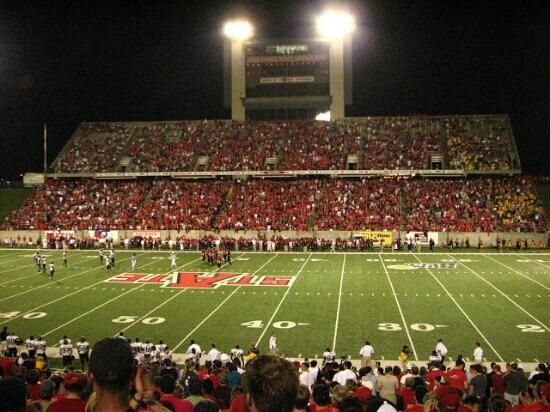 ‪Centennial Bank Stadium‬