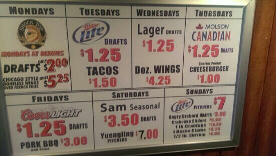 Beanies Bar & Grill