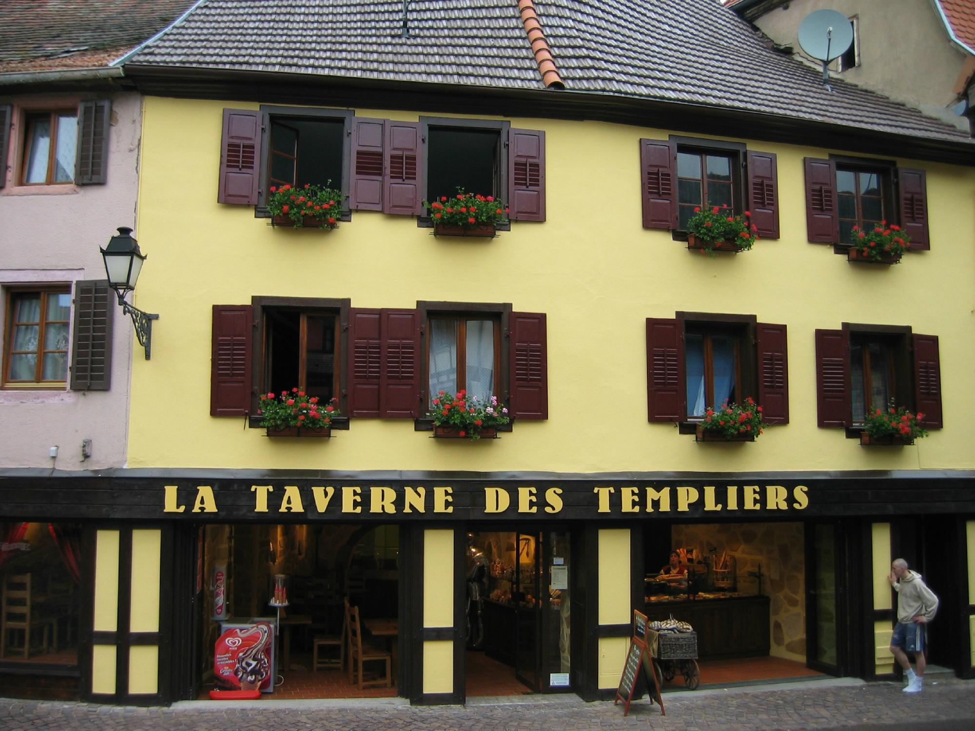 La Taverne des Templiers B&B Ribeauvillé voir les tarifs 2017