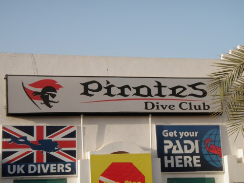 Pirates Dive Club