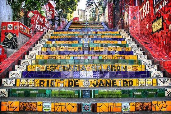 Resultado de imagen para Escadas de Selaron rio de janeiro