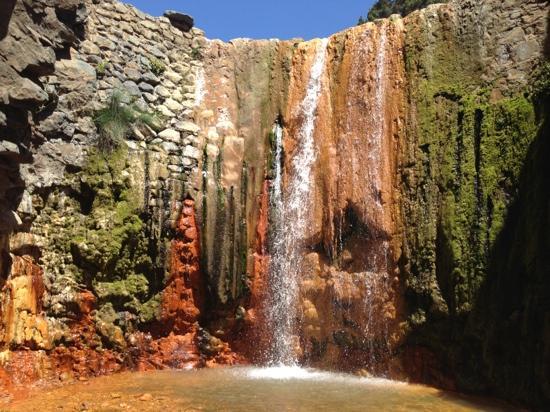Cascada de los Colores, Barranco de las Angustias