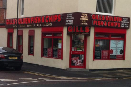 Gill's Golden Fish And Chips