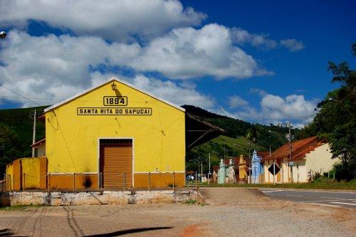 Estacao Ferroviaria de Santa Rita do Sapucai
