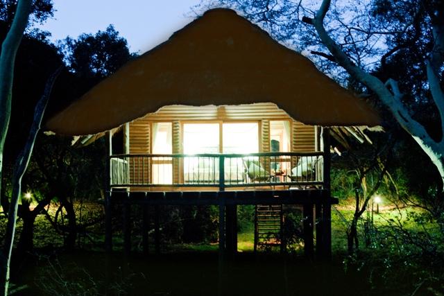 烏比贊內野生動物保護區小屋
