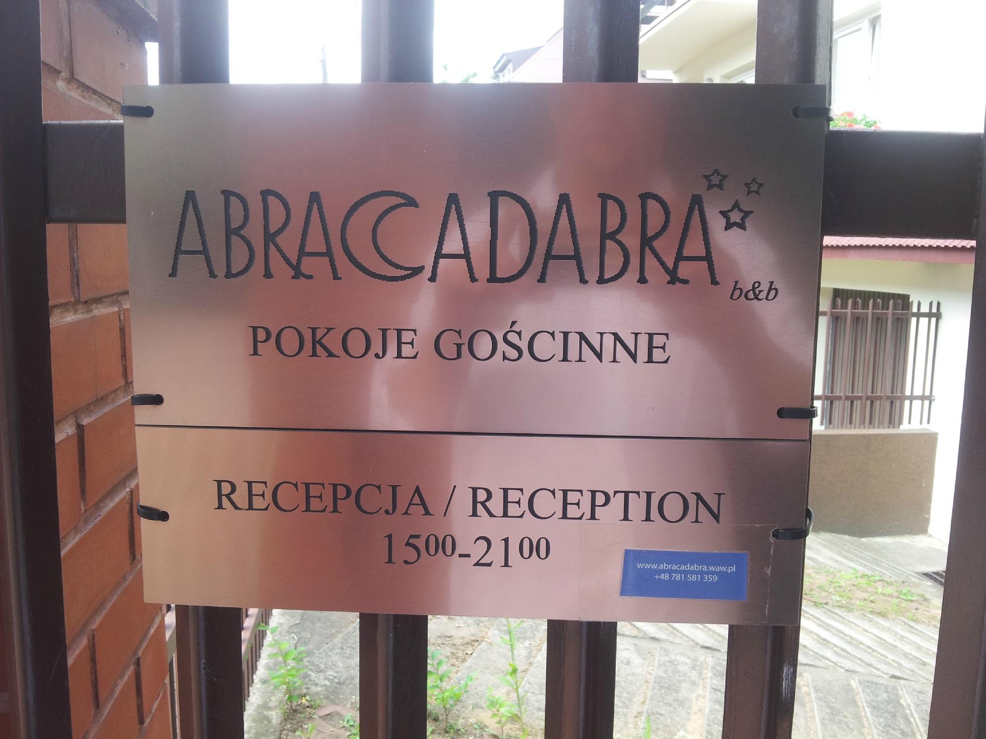 Abracadabra B & B
