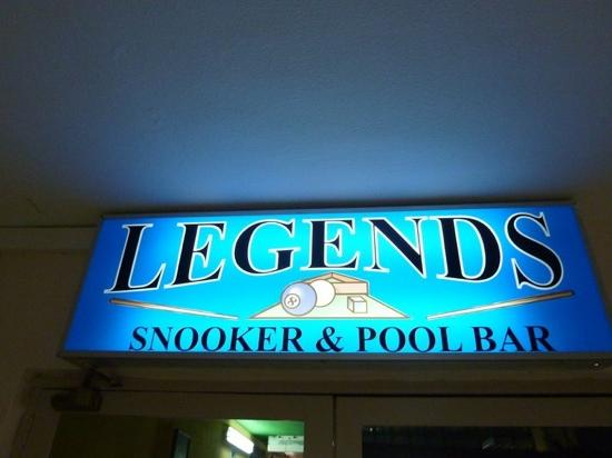 ‪Legends Snooker & Pool Bar‬