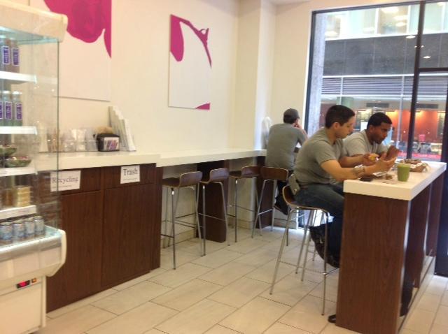 Terri new york city 100 maiden ln financial district for Terri restaurant