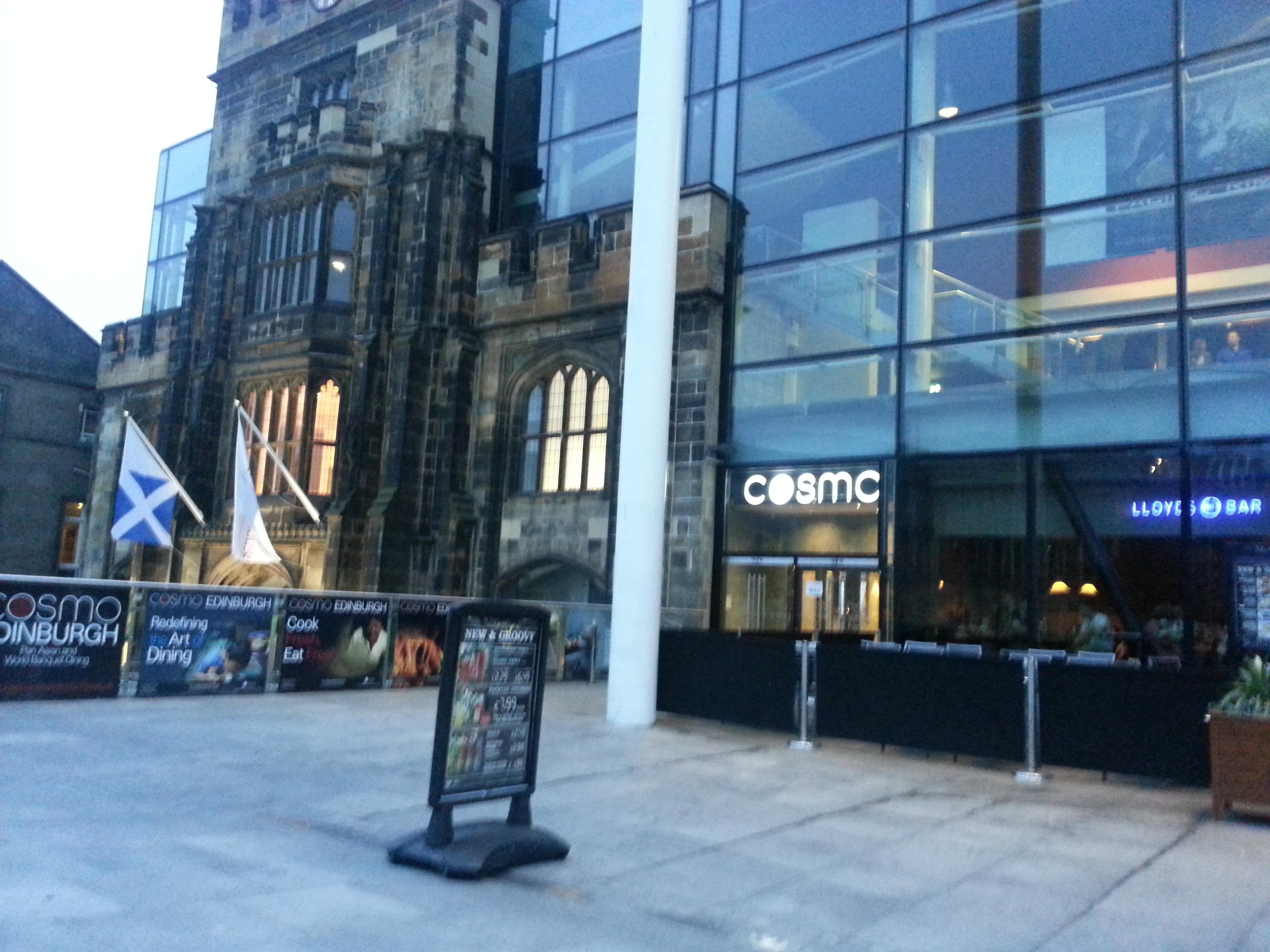 COSMO Edinburgh 61 TripAdvisor