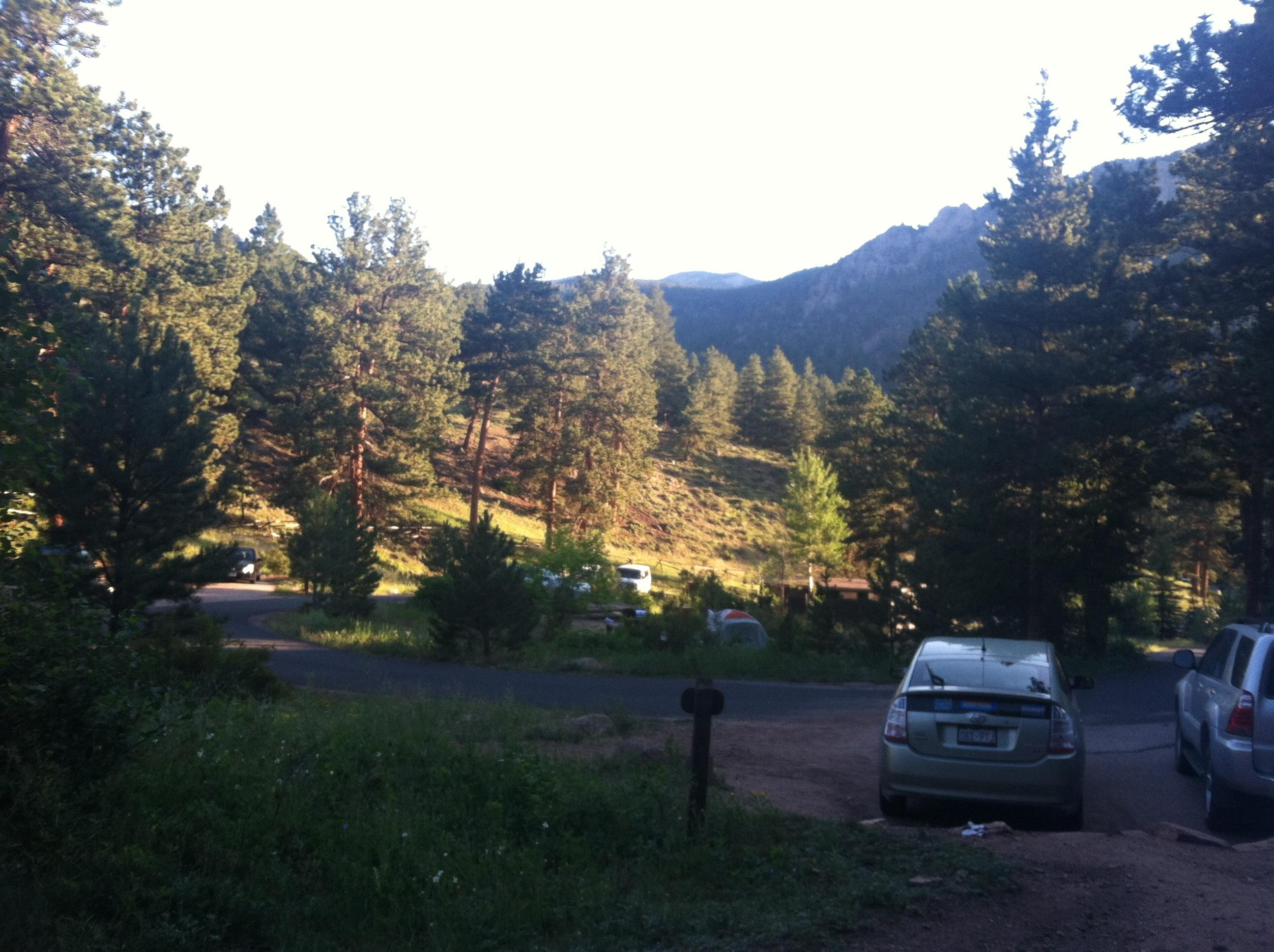 Aspenglen Campground, Rocky Mountain National Park
