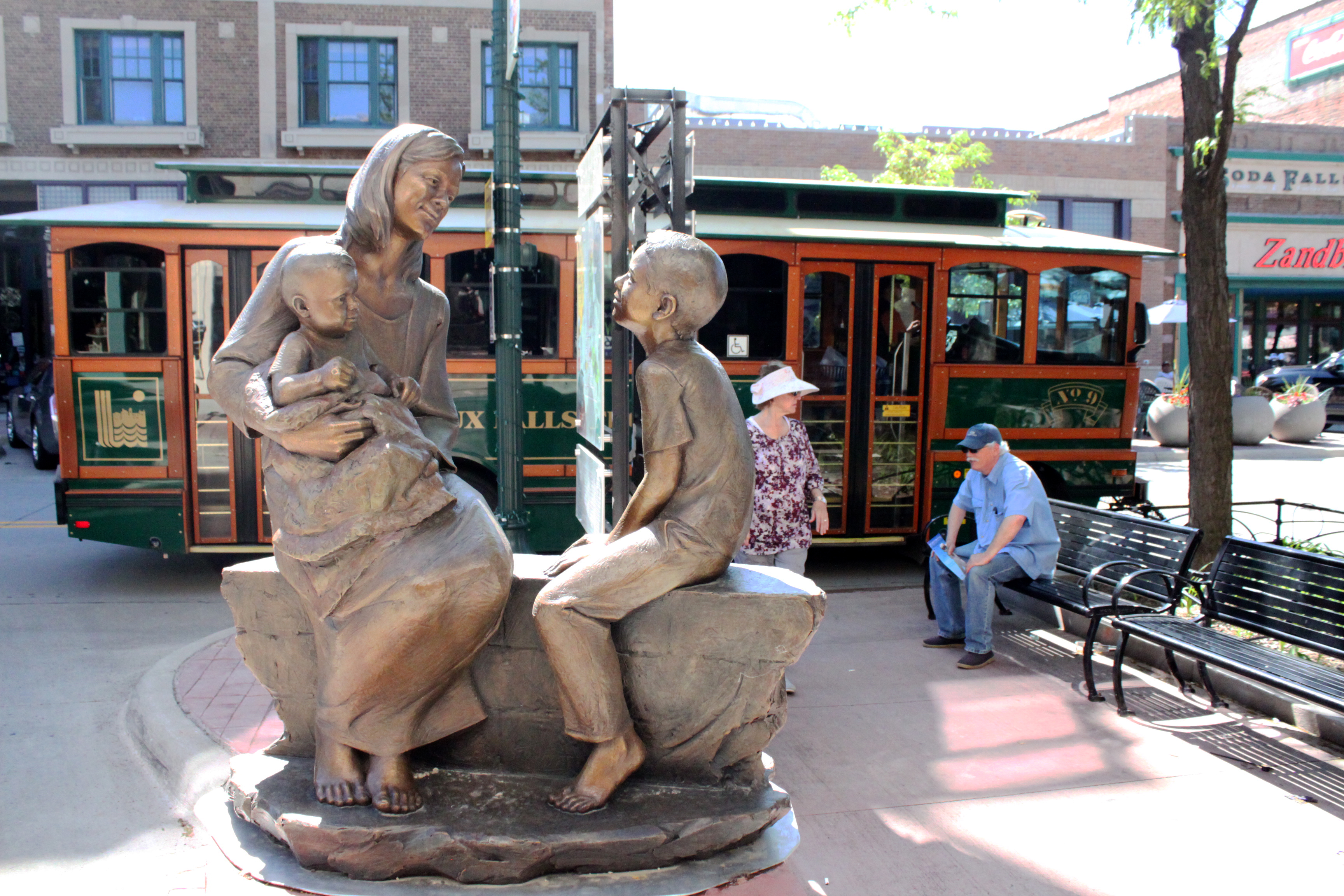 Stroll through Downtown Sioux Falls, home to over 60 sculptures.