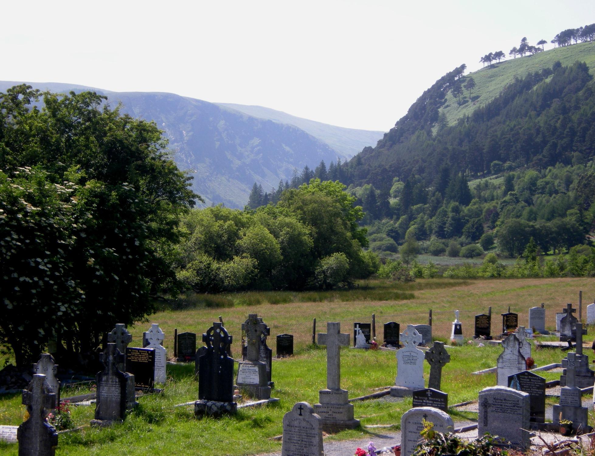 The 6th century monastic site of Glendalough