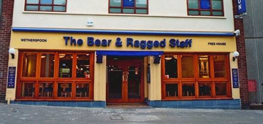 Bear and Ragged Staff