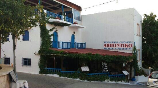 Arhontiko Roofterras Koutouloufari