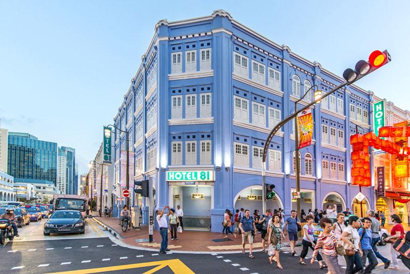 ホテル 81 チャイナタウン