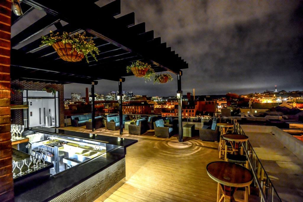 The graham georgetown observatory rooftop lounge for American cuisine restaurants in dc