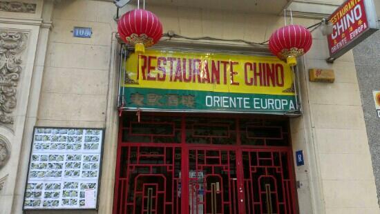 Restaurante Chino Oriente Europa