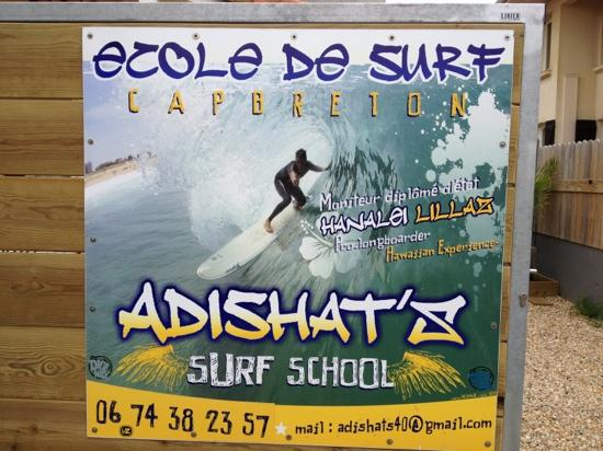 ‪Adishat's Surf School‬