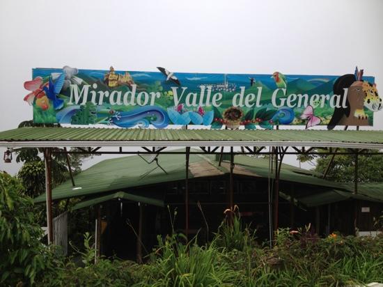 Mirador Valle del General