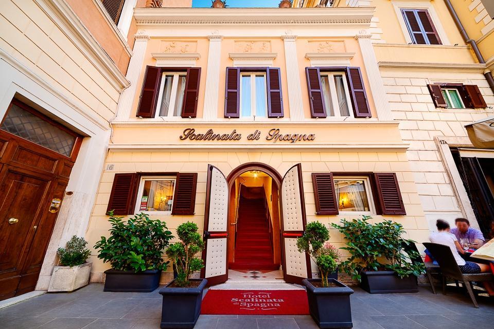 西班牙小台階酒店