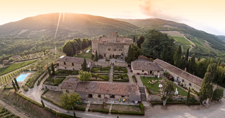 Meleto Italy  city photo : Castello di Meleto Italy/Gaiole in Chianti, Tuscany 2016 Castle ...