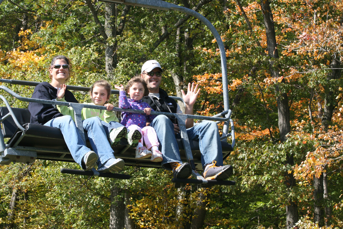 Bristol Mountain Fall Sky Ride - Finger Lakes