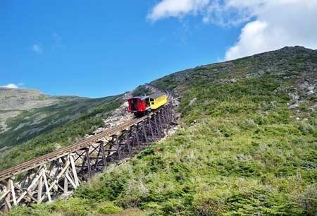 Cog Train coming down