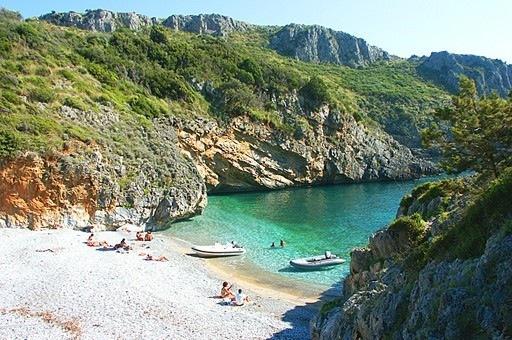 Cala Bianca Beach