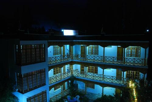 The Auspicious Hotel