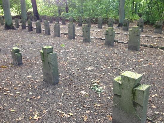 Krigsfangegravene